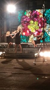 Electrica String Trio - QVC video shoot 1